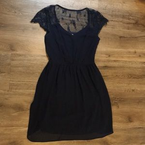 Crescent Navy dress